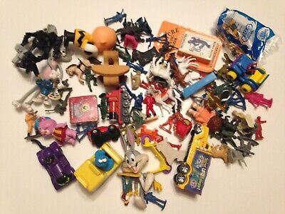 Vintage Junk Drawer Toy Lot, Transformer, Mcdonalds, smurf, army horse  2+ Pound