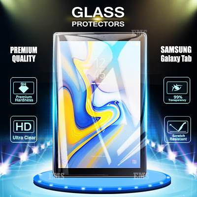 2X Samsung Galaxy Tab A 10.1 2019 10.5 S4 S5e Tempered Glass Screen Protector
