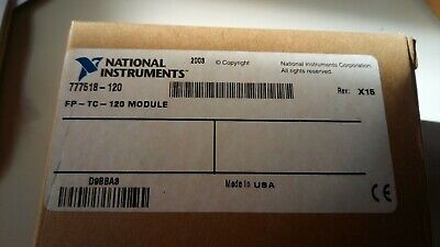 National Instruments FP-TC-120 8 Channel Thermocouple Input Module
