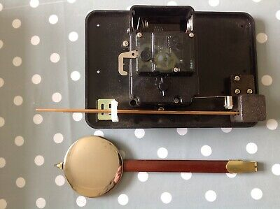 Vintage Electric Clock Movements Two Chime With Pendulum Untested Ex Specialist