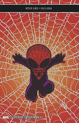 Superior Spider-Man #1 (2018-) Skottie Young Baby Variant Cover NM Marvel