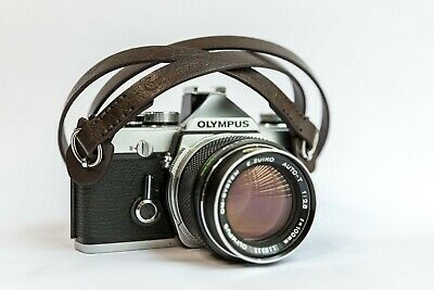 Leather Camera Strap for Vintage & New Cameras - Sony, Fuji, Nikon Camera Strap
