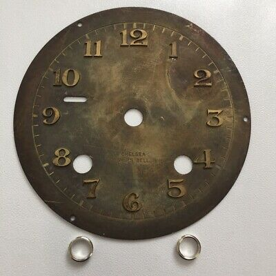 """Chelsea Clock Co. 3 3/4 Inch """"Special Dial"""" with Raised Numerals"""