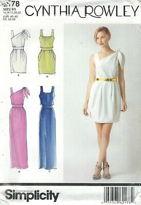 Simplicity 2178 Misses' Dresses   Sewing Pattern