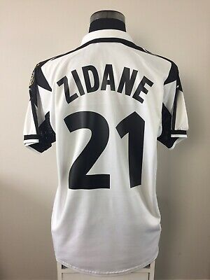 Juventus Italy 1998 1999 Home Football Shirt Kappa Zidane 21 Size Xxl Adult 129 99 Picclick Uk