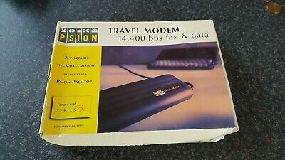 psion travel modem NEW sealed in box