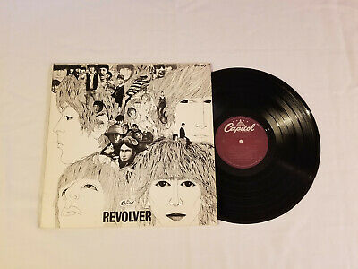 The Beatles ‎– Revolver  1978 vinyl record  SW 2526  purple  VG+