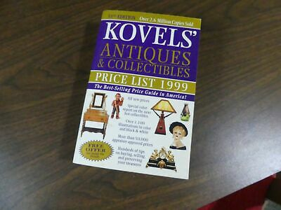 Kovels Antique Book Price Guide 1999