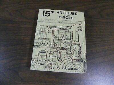 15th Antiques Price Guide Vintage by Edwin Warman 1980