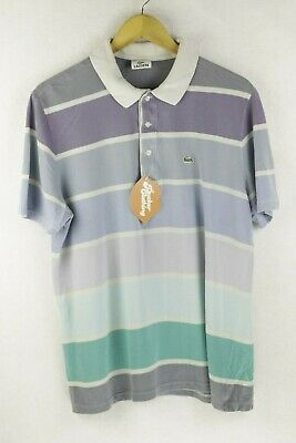 Lacoste LIVE Men/'s Short Sleeve Crocodile Logo Polo Tee T Shirt Orchid Pink
