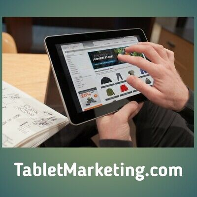 TabletMarketing.com Premium Tablet Marketing/SEO/Sale Domain Name, Estibot $1900