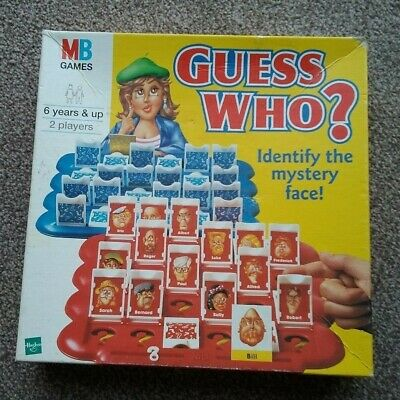 MB Games GUESS WHO? - Complete.