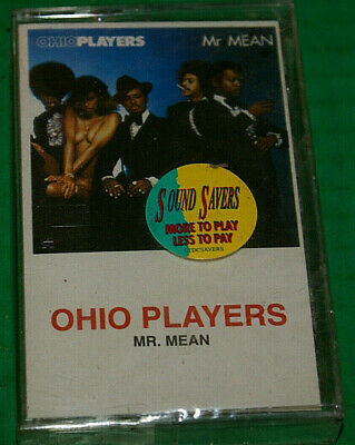 Ohio Players Mr Mean Cassette 1988 Reissue Mercury ‎848 350-2 New Sealed Mint