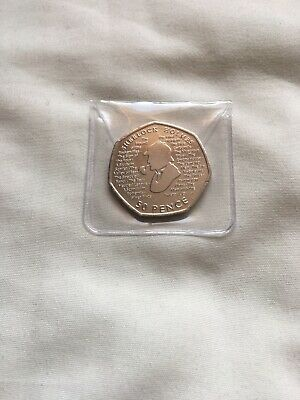 2019 Sherlock Holmes 50p Brand New From Sealed Bag UNCIRCULATED.