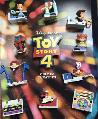 Toy Story 4 And Lion King Movie Mcdonalds Choose Toy #1-10