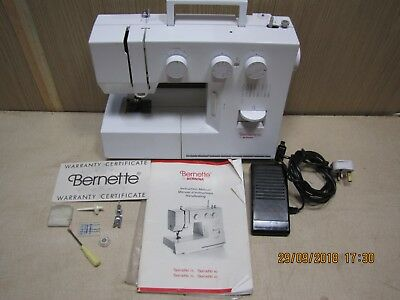 Bernina Bernette 60 sewing machine with accessories top quality swiss made