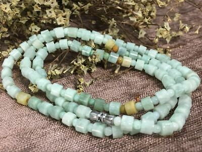 Certified Chinese-exquisite-hand-carved-jade-necklace-21-inches