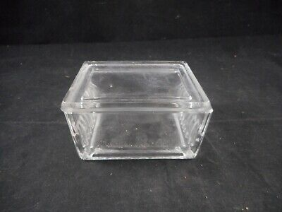 WHEATON Glass 10-20 Slide Rectangular Staining Dish with Cover 900170 1/PACK B