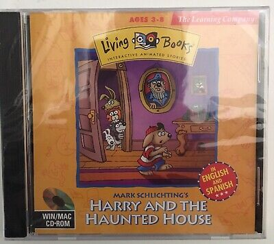 HARRY & THE Haunted House Pc Cd-Rom Game, Mark Schlichting, Living