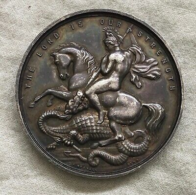 Saint George. Polytechnic School of Art, London silver Award Medal, 1925