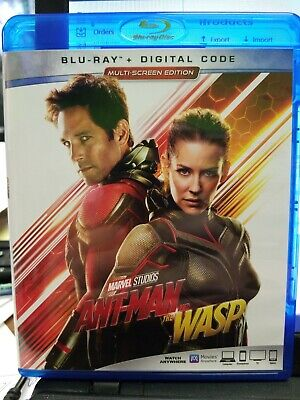 Marvel Ant-Man and The Wasp Blu Ray 2018 Movie