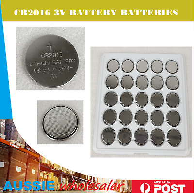 cr2016 Battery Button Coin Cell Lithium Battery 3V AU stock