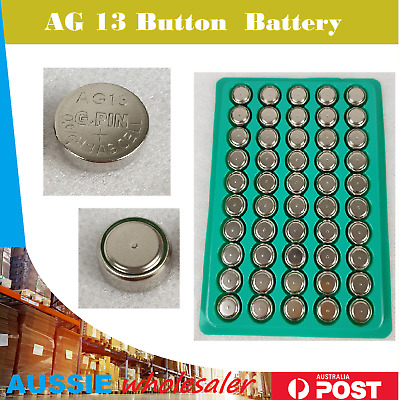 LR44 Battery AG13 A76 Button Cell Batteries Tray Pack Batteries Cell Battery