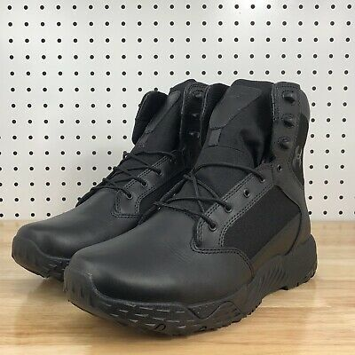 New UNDER ARMOUR UA STELLAR TAC 2E 1289001 001 Black Tactical Boots Size 11