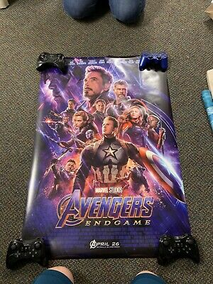 AVENGERS ENDGAME MOVIE POSTERS Double Sided ORIGINAL US Advance And Final 27x40
