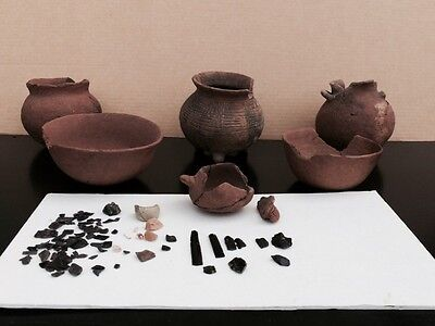 Lot Of Pre Columbian Artifacts, Aztec, Mayan, Pottery Authentic! Museum Quality