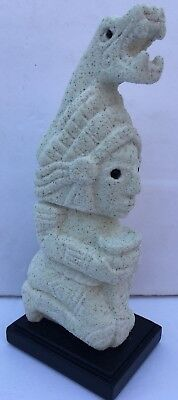 Aztec, Maya, Art Sculpture 'Priest Offerings' Mini
