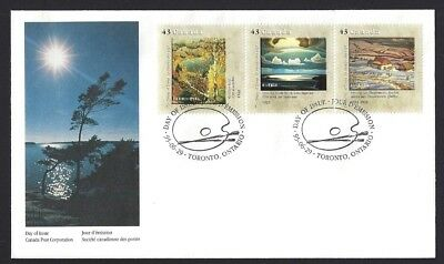 Canada  # 1559 abc   CANADA GROUP OF SEVEN   New 1995 Unaddressed