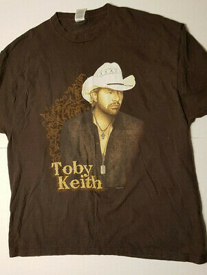 Toby Keith Biggest and Baddest Tour T-Shirt X Large Adult 2008