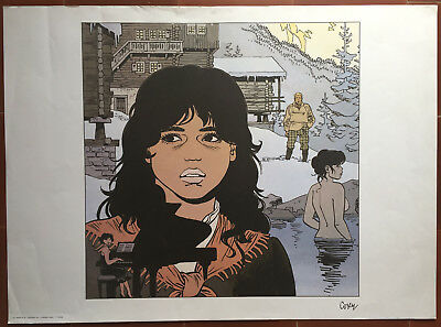 Poster a la Search of Peter Pan 2 by Cosey 1er Drawing 1985