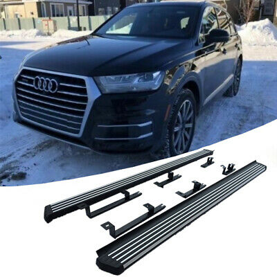 US Fit for Audi Q7 2016-2017 2018 2019 running board side step Q7 Nerf bar pedal Auto Parts & Accessories