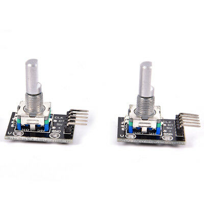 2Pcs Ky-040 Rotary Encoder Module For Arduino Avr Pic New FE