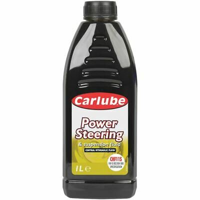 Carlube Synthetic Power Steering Fluid Green Vw/Bmw Hydraulic 1Litre HPF001