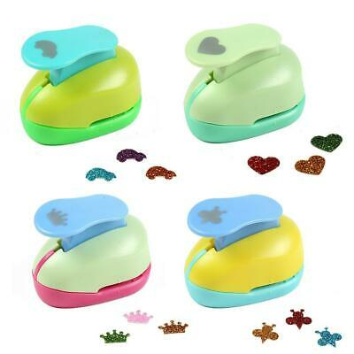 Love Heart Crown Bee Car Paper Star Paper Craft Punch Tool DIY Punches Decor