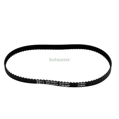 H● 208XL 104T Synchronous Closed Loop Rubber Timing Belt 528mm Perimeter.