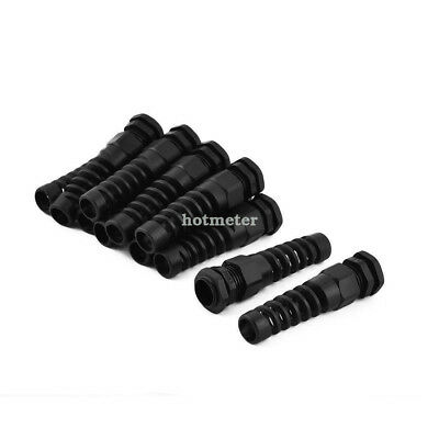 H● 11Pcs Plastic PG13.5 6-11mm 20.4mm Thread Water Resistance Cable