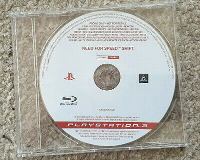 Sony Playstation 3 PS3 Game Need for Speed Shift Promo Version