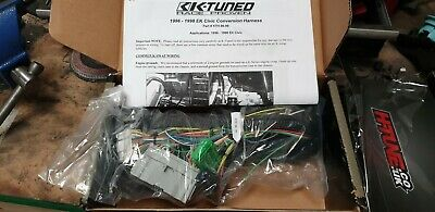K Tuned Wiring Harness Conversion. . Wiring Diagram on