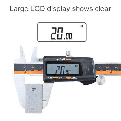Stainless Steel 0.01-150mm Digital LCD Display Caliper Tool W/ Digital Caliper