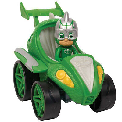 Super Pigiamini PJ Mask Auto Power Racer Gekko Mobile con Personaggio Snodato
