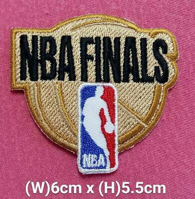 NBA Finals basketball Light Gold patch sport Embroidery iron,sewing on Fabrics