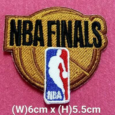 NBA Finals basketball Dark Gold patch sport Embroidery iron,sewing on Fabrics