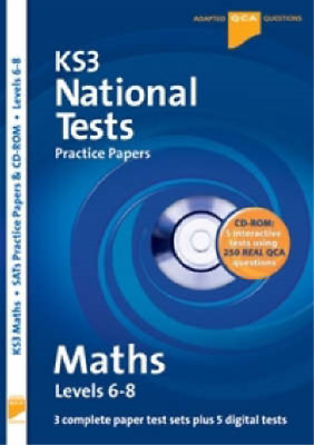 Letts Key Stage 3 Practice Test Papers - KS3 National Test Practice Papers Maths