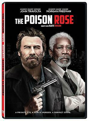 THE POISON ROSE [DVD] (Morgan freeman and John Travolta) DISK ONLY.
