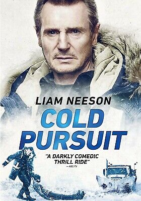 Cold Pursuit [DVD] (Liam Neeson) DISK ONLY.