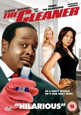 Code Name The Cleaner Dvd New Region 2